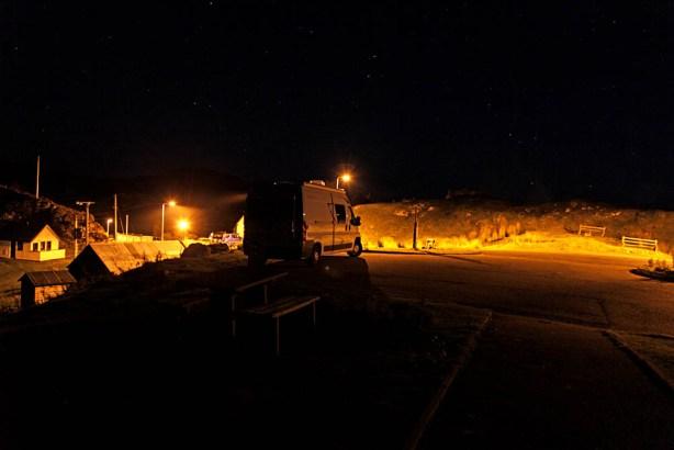 Schlafplatz am Drumbeg Viewpoint
