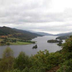 10. Tag: Von Inverness bis Edinburgh, Queen's View, Wallace Monument