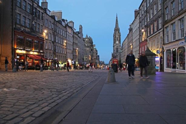 11. Tag: Die Hauptstadt von Schottland, Edinburgh
