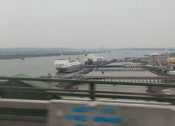 Blick auf die Themse