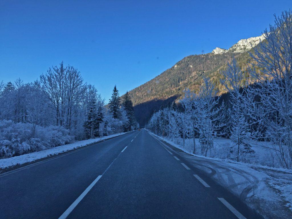 Unterwegs war es sogar mal winterlich