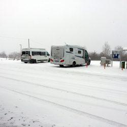 Endlich echtes Wintercamping - Besuch auf der CMT