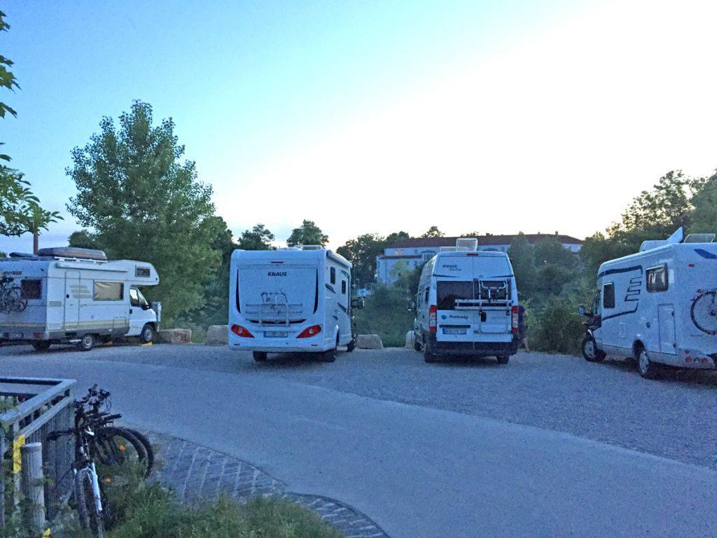 Wohnmobil-Stellplatz Augsburg Wertach • Womi on Tour