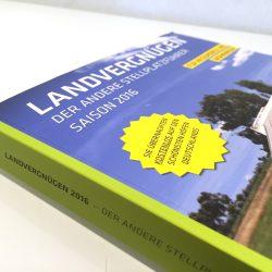 Das neue Landvergnügen 2016 mit neuen Wohnmobil-Stellplätzen ist da