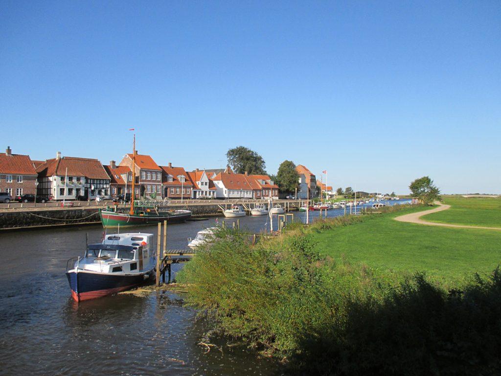 Ansicht auf die Stadt Ribe