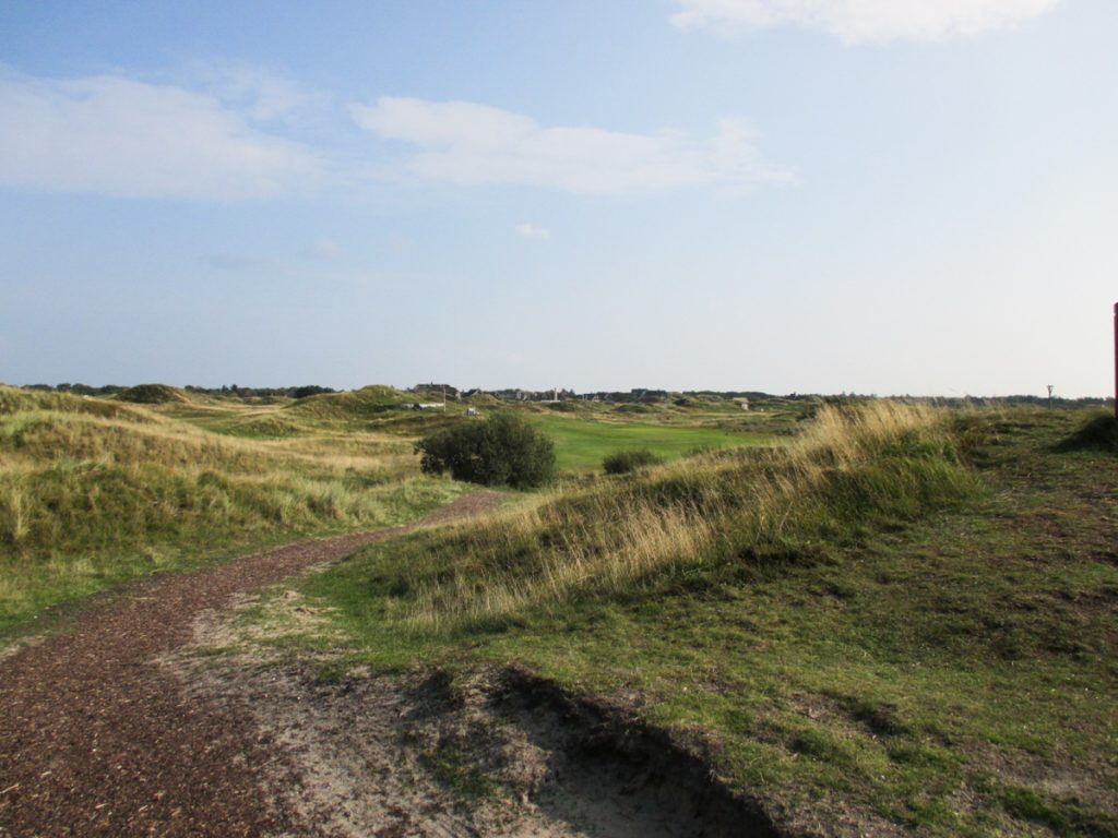 Golf in Dänemark Fanö Golf Links