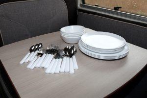 Teller und Schüsseln aus Melamin von Rosti Mepal