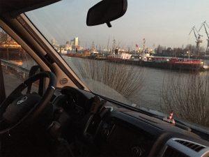Wohnmobil-Stellplatz Hamburger Hafen