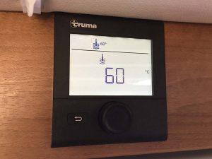 Heißes Wasser auch im Winter: Truma Bedienteil für die Boiler-Temperatur