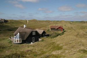 Ferienhäuser in den Dünen rund um Søndervig