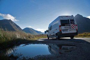 Wohnmobil Reisebericht Schottland Glen Coe