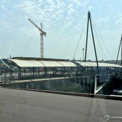 Brücke am Hafen von Boulogne sur Mer