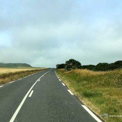 Küstenstraße nach Calais