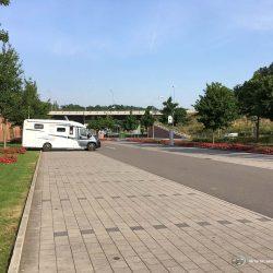 Parkplatz bei Kaiserslautern