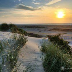 Vorsicht, Kitschalarm. Strand bei Sonnenuntergang bei Le Hourdel