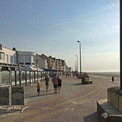 Strandpromenade in Bray Dunes