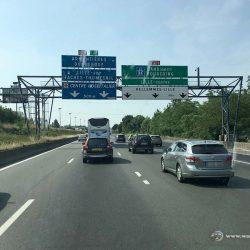 Autobahn bei Lille