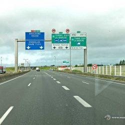 Autobahn bei Calais