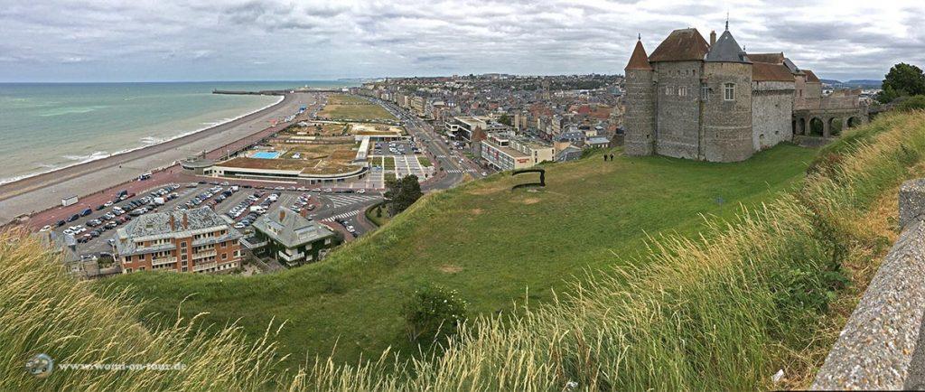 Bucht von Dieppe Panorama
