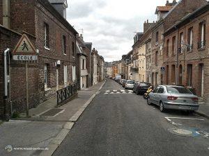Straße in Dieppe