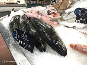 Lieu Noir beim Fischmarkt in Fécamp