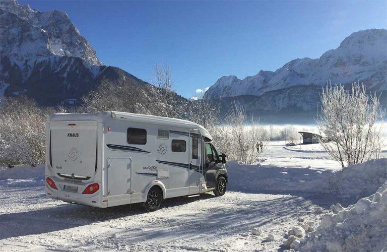 Wintercamping mit dem winterfesten Wohnmobil