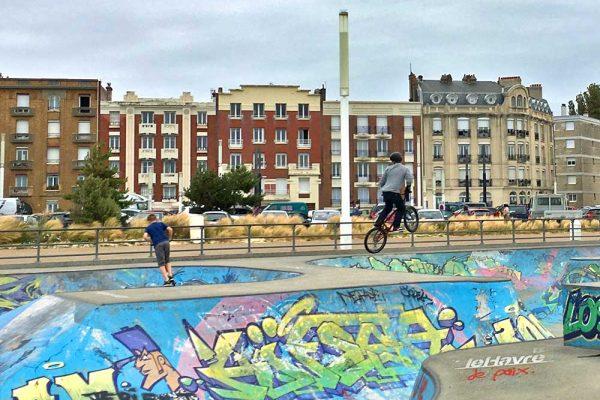 Tag 6: Le Havre, Honfleur und die Flucht aufs Land