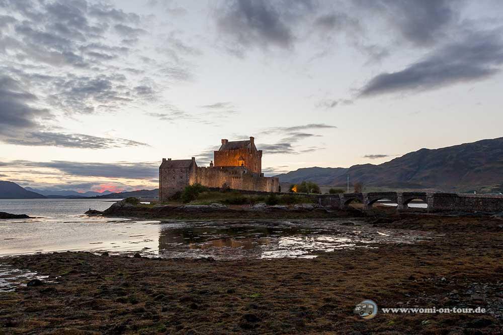Mit dem Wohnmobil nach Schottland: Eilean Donan Castle