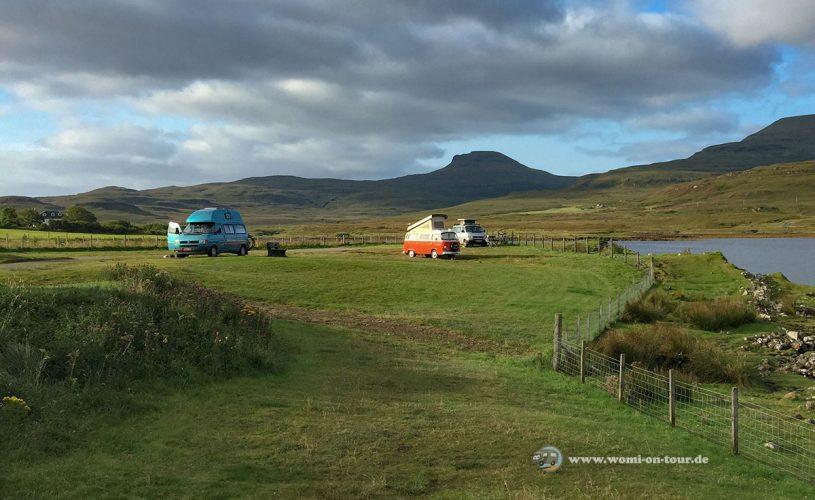 Mit dem Wohnmobil nach Schottland - Routen und Tipps