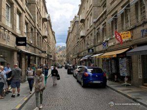 Saint Malo Altstadtgasse