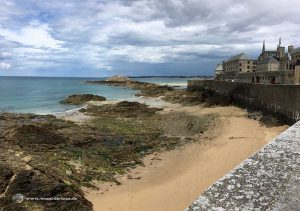 Saint Malo Stadtmauer