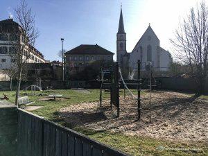 Wohnmobil Stellplatz Hammelburg Spielplatz