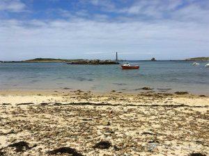 Die Bucht bei Lilia - Leuchtturm Île Vierge