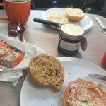 Dänisches Frühstück im Womo