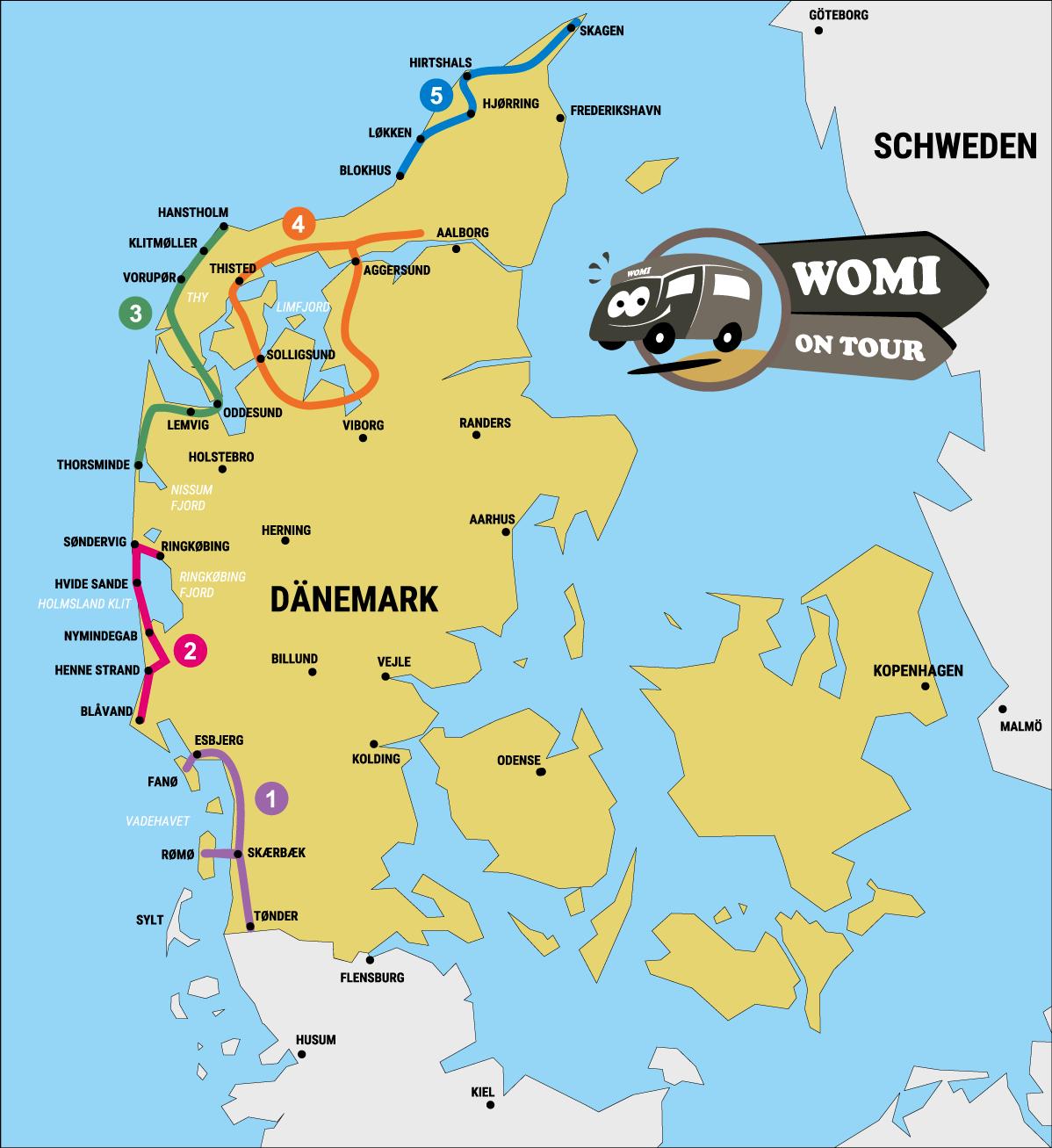 Reiseratgeber: Dänemark mit dem Wohnmobil